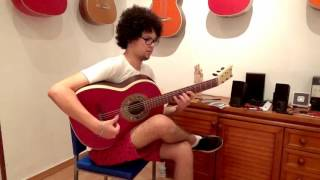 Carnegie Hall soloist Khalil Jemaa plays Taranta on Andalusian Barbero / 18 years old CFG student