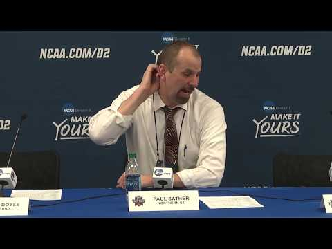 2018 NCAA MBB National Finalist Press Conference – Northern State (S.D.)