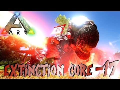 ARK: Extinction Core #17 - TEK TIER BUSCH MENSCH & TEK APEX REX! | LP Ark Deutsch