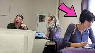 WATCHING EMBARRASSING TUTORIALS IN THE LIBRARY - Part 2 thumbnail