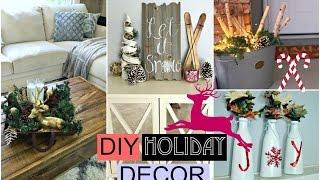 DIY Holiday Room Decor! DIY Christmas!