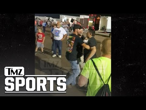 Greg Kretschmar - Tony Stewart Punches Mouthy Race Fan (He Had it Comin!)