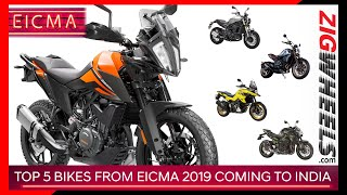 Top 5 Bikes from EICMA 2019 Coming To India | Here's What To Expect in 2020