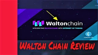 WHAT IS THE WALTON CHAIN COIN CRYPTOCURRENCY PROJECT? (Scam?!?!)