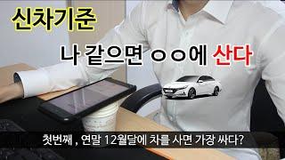 자동차 싸게 사는법 신차기준