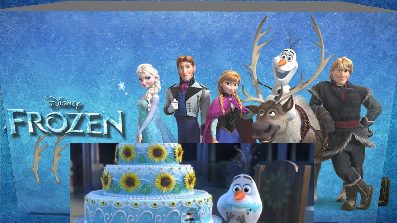 Anna Frozen Fever Birthday Cake