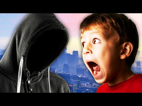 EXTREMELY SCARY STALKER TROLLING ON GTA 5! - (Almost Got ARRESTED!)