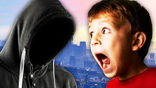 EXTREMELY SCARY STALKER TROLLING ON GTA 5! - (Almost Got ARRESTED!) - LTLICKME
