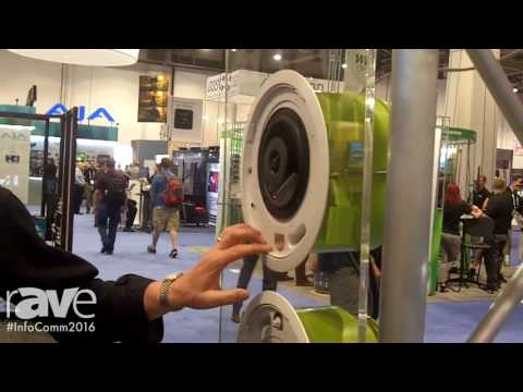 InfoComm 2016: MSE Audio Shows SoundTube Dante Enabled Speakers