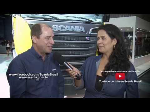 ENTREVISTA 8 #SCANIA NA FENATRAN - SCANIA R 620 V8 SUPER RODOTREM