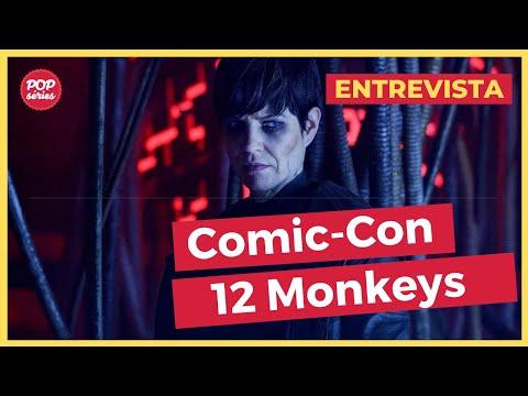 12 Monkeys 4ª temporada Os Doze Macacos: Todd Stashwick e Alisen Down