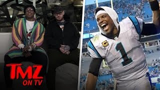 NFL Star Gets His First Tattoo At 29! | TMZ TV