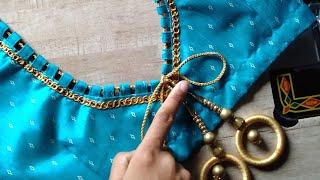 Latest blouse design, #Back blouse design, #latestblouse, #easy,blouse, #blouse,design, ##designpur