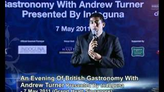 World Gourmet Summit 2011 British Gastronomy Masterclass with Andrew Turner