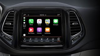 Apple Carplay in JEEP COMPASS