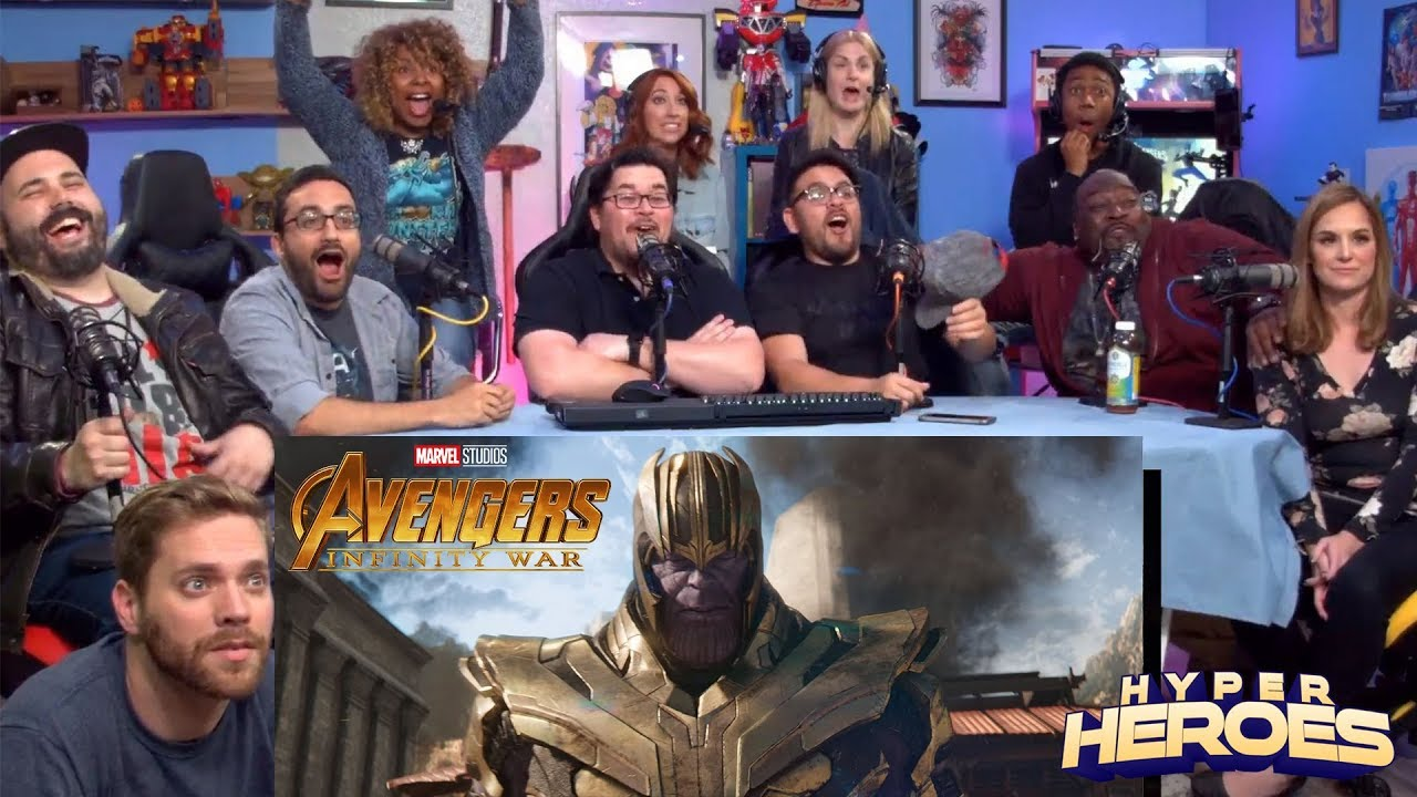 Download Marvel Studios' Avengers: Infinity War - Official Trailer Reaction