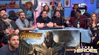 Marvel Studios' Avengers: Infinity War - Official Trailer Reaction