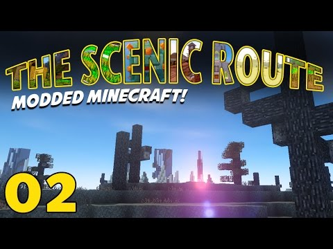 The Scenic Route (modded Minecraft 1.10.2) Let's Play Episode 02