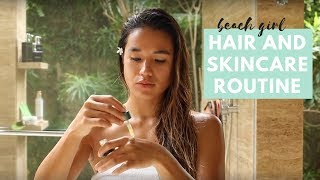 Download Video Beach Girl Skin and Haircare Routine MP3 3GP MP4