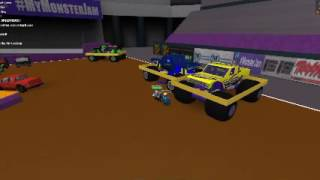 ROBLOX Monster Jam Tacoma Pit party and Intro's / Real life intros