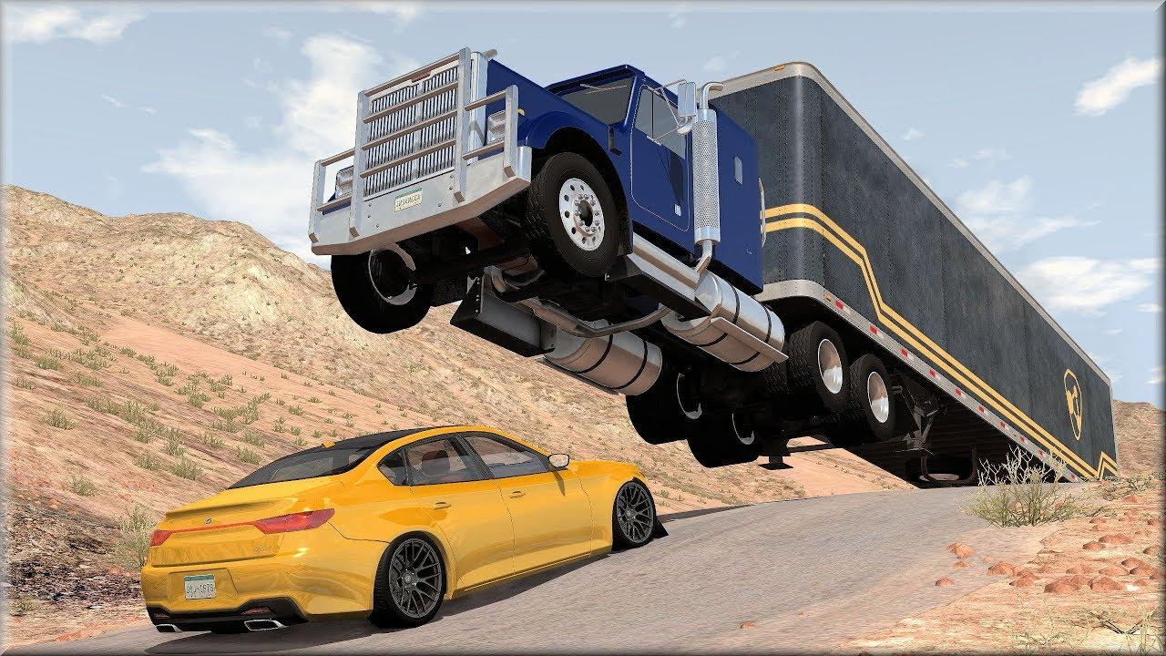 BeamNG Drive Trucks Vs Cars #12 – Insanegaz