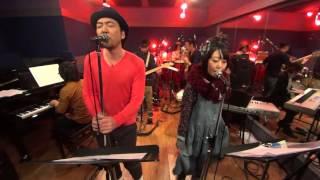 大和真二郎 & 中村ピアノ - DOWN TOWN (シュガー・ベイブ cover / live on musica da Leda, 2016-01-05)