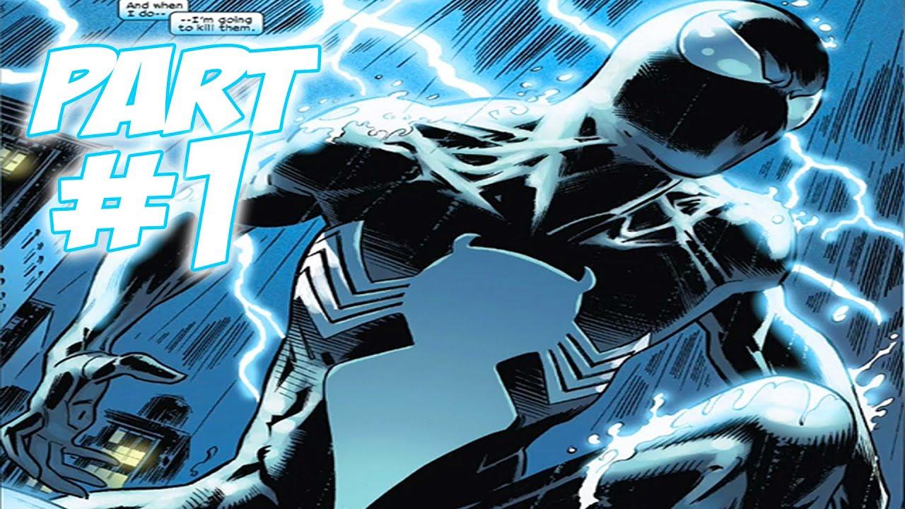 Black Spiderman Comic The Amazing Spi...