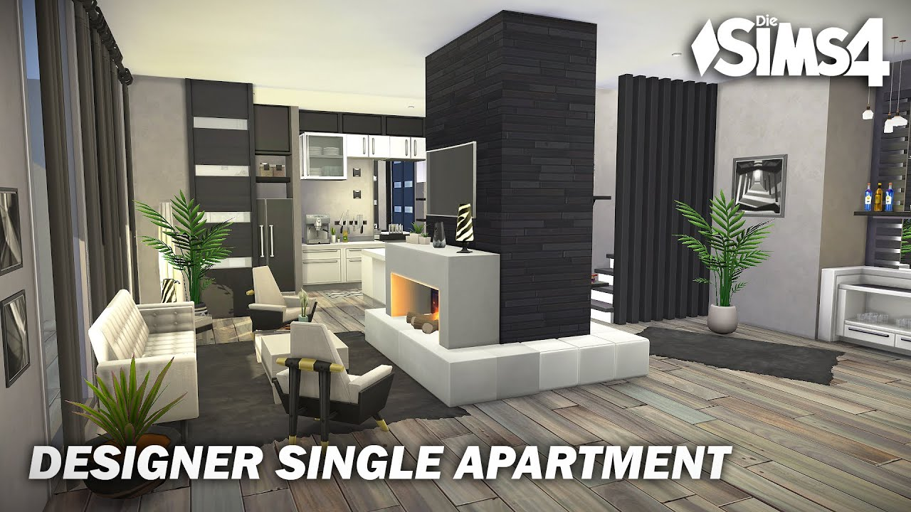Designer Single Apartment   No CC   Artworks   Stop Motion   Sims 21