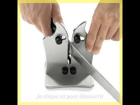 aiguiseur de couteaux professionnel comment aiguiser ses couteaux le tuto youtube. Black Bedroom Furniture Sets. Home Design Ideas