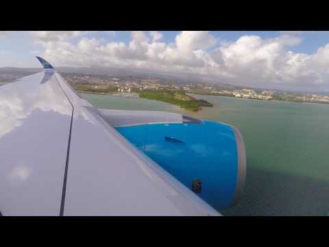 [FLIGHT#46] AIR CARAIBES A350-900XWB MARTINIQUE Landing