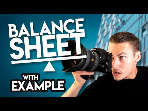 How The BALANCE SHEET Works (Statement of Financial Position / SOFP)