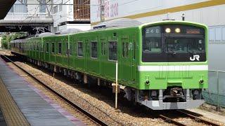 2021/6/7 試6780M〜6781M 201系ND606編成 吹田出場本線試運転 茨木