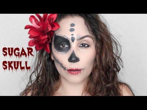 "easy seductive ""day of the dead"" sugar skull halloween"