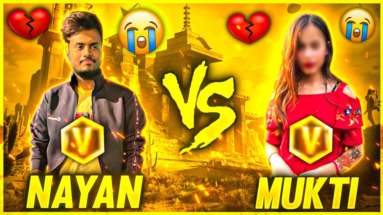 She Propose me 😱 & Challenge me  For 1 vs 1 || She will Say Yes or No 💔 - Garena Free Fire
