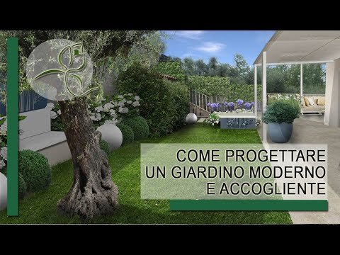 Come progettare un giardino moderno e accogliente 34  YouTube
