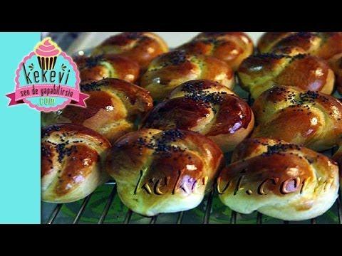 Açma Tarifi / Düğüm Çörek Tarifi - Açma çörek nasıl yapılır?