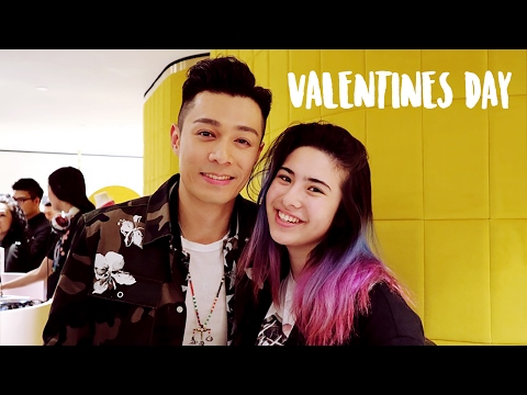 VALENTINE'S DAY W/ PAKHO CHAU! (and JESSICA from SNSD)
