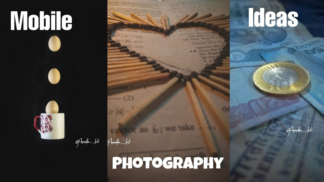3 Wow😱 Mobile Photography Ideas To Make your Instagram Photo Viral || Home Photography Ideas