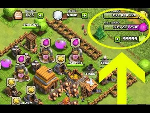 cách hack game clash of clans android