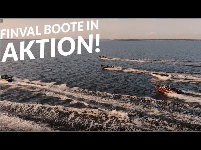 FINVAL-BOOTE in Aktion - Evo 475, Evo 550, Evo 475 Tiller, Rangy 510, 685 Sportangler