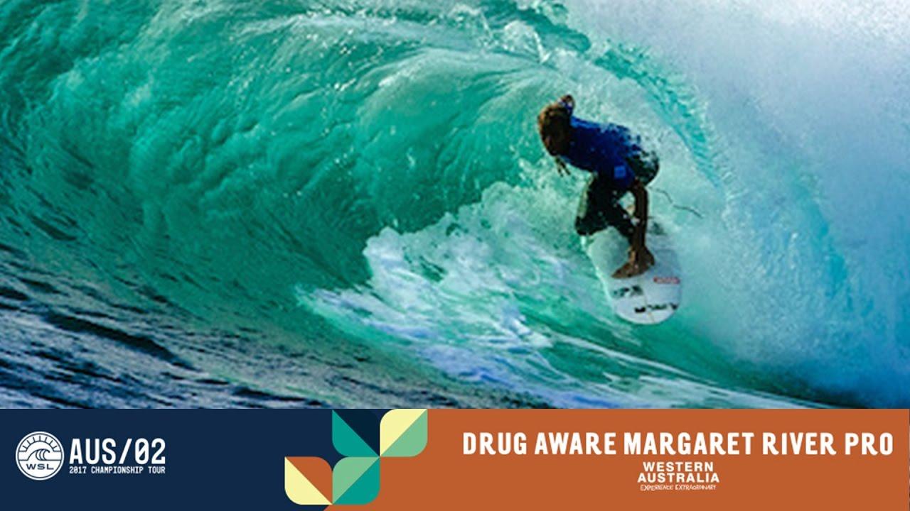 a96fec8b5eb204 Sebastian Zietz s Unbelievable Perfect 10 - Drug Aware Margaret River Pro  2017