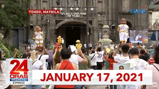 24 Oras Weekend Express: January 17, 2021 [HD]