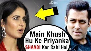 Katrina Kaif SHOCKING Reaction To Replacing Priyanka Chopra In Salman Khan Bharat Movie