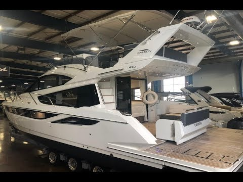 2018 Galeon 420 Fly Yacht for Sale at MarineMax Clearwater