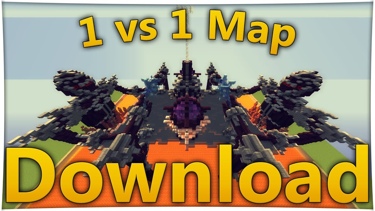 Minecraft Vs Map DOWNLOAD Deutsch Vs PvP Map Server - Wie downloade ich maps fur minecraft