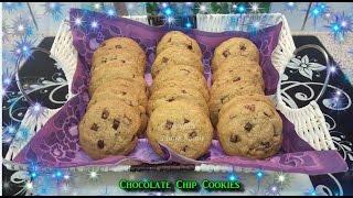 Chocolate Chip Cookies چاکلیٹ چپ کوکیز  Cook With Saima