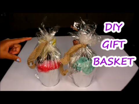 {DIY GIFT BASKET} FOR BABYSHOWER GAME WINNERS   YouTube
