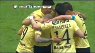 America vs Jaguares de Chiapas 5-0 Jornada 6 Clausura 2015 14/2/15