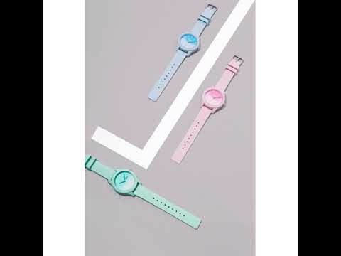7626a382 Lacoste The .12.12 Blue Silicone Ladies Watch - 2000989