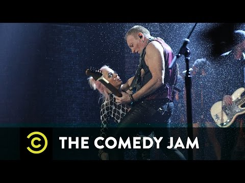 The Comedy Jam  Taryn Manning & Phil Collen